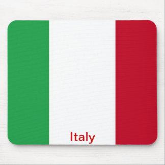 Bandera de Italia Tapete De Raton