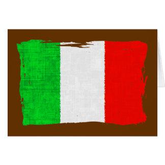 BANDERA DE ITALIA TARJETA PEQUEÑA