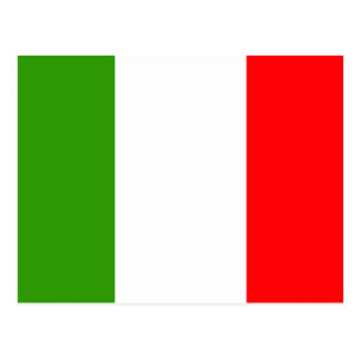 Bandera de Italia Tarjeta Postal