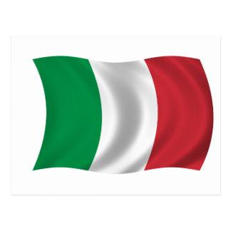 Bandera de Italia Tarjetas Postales