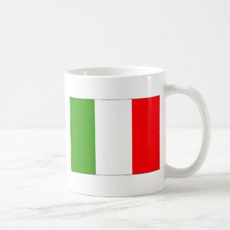 Bandera de Italia Taza