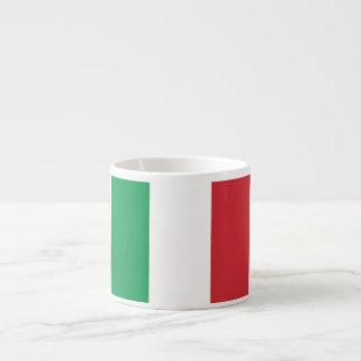 Bandera de Italia Taza Espresso