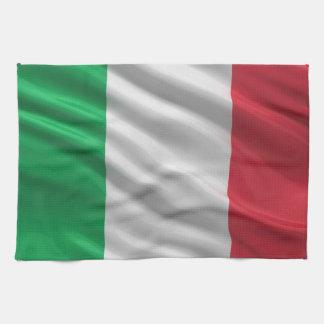 Bandera de Italia Toallas