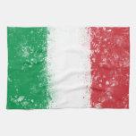 Bandera de Italia Toallas De Mano
