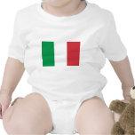 Bandera de Italia Traje De Bebé