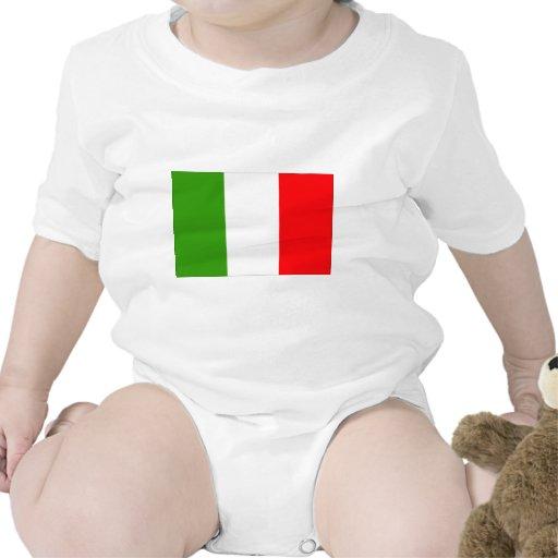 Bandera de Italia Trajes De Bebé