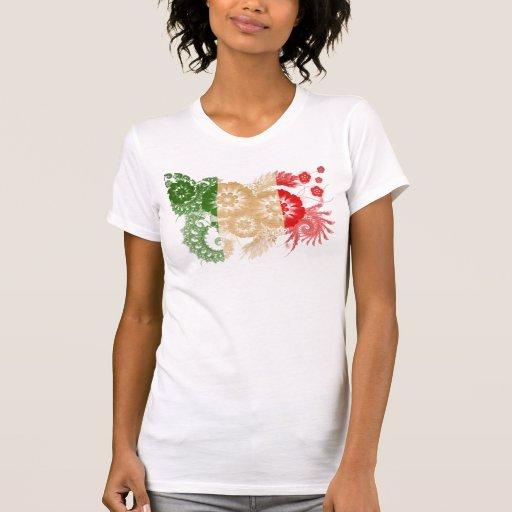 Bandera de Italia Tshirt