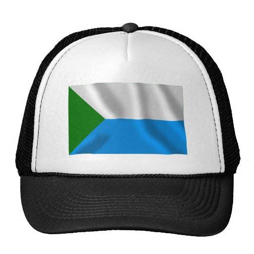 Bandera de Jabárovsk Krai Gorros Bordados