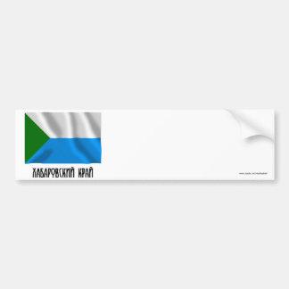 Bandera de Jabárovsk Krai Pegatina Para Auto