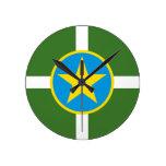 Bandera de Jackson Mississippi Relojes