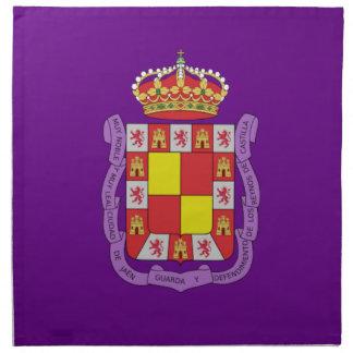 Bandera de Jaén Servilleta Imprimida