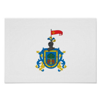 Bandera de Jalisco (heráldica) Póster