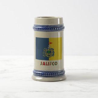 Bandera de Jalisco Jarra De Cerveza