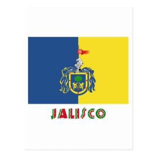 Bandera de Jalisco Tarjetas Postales