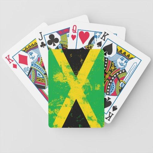Bandera de Jamaica Barajas De Cartas