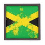Bandera de Jamaica Cajas De Regalo De Calidad
