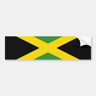 Bandera de Jamaica Etiqueta De Parachoque