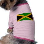 Bandera de Jamaica Camisetas De Perrito