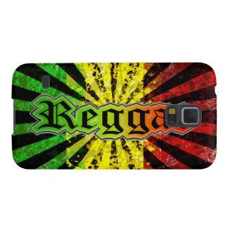 Bandera de Jamaica del reggae de Cori Reith Rasta Funda Galaxy S5