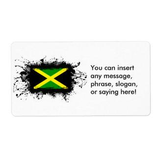 Bandera de Jamaica Etiquetas De Envío