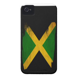 Bandera de Jamaica Case-Mate iPhone 4 Carcasa