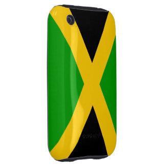 Bandera de Jamaica Tough iPhone 3 Cobertura