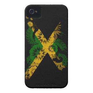 Bandera de Jamaica Case-Mate iPhone 4 Carcasas