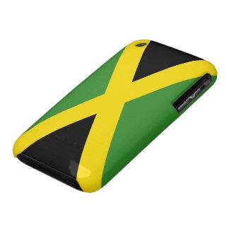 Bandera de Jamaica iPhone 3 Case-Mate Cárcasas