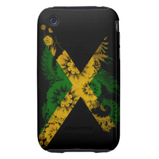 Bandera de Jamaica Tough iPhone 3 Protector