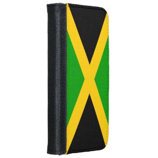 Bandera de Jamaica Funda Cartera Para iPhone 6