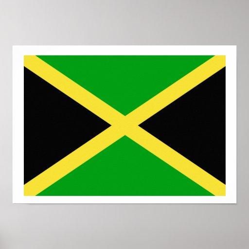 Bandera de Jamaica Impresiones
