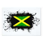 Bandera de Jamaica Invitación 12,7 X 17,8 Cm
