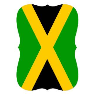 """Bandera de Jamaica Invitación 5"""" X 7"""""""