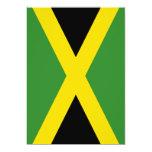 Bandera de Jamaica Invitación Personalizada