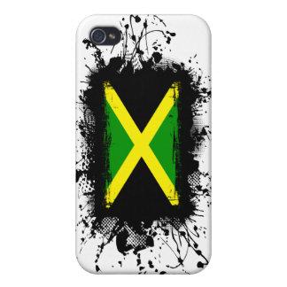 Bandera de Jamaica iPhone 4 Funda