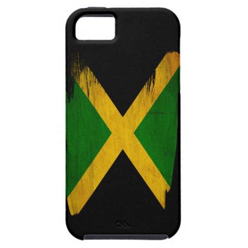 Bandera de Jamaica iPhone 5 Case-Mate Protectores
