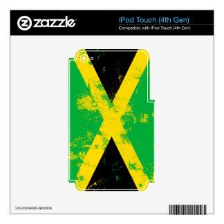 Bandera de Jamaica iPod Touch 4G Skins