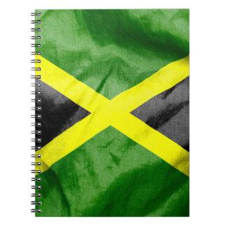 Bandera de Jamaica Libretas Espirales