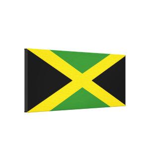 Bandera de Jamaica Impresiones En Lienzo Estiradas