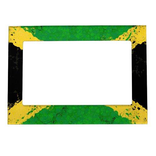 BANDERA DE JAMAICA MARCOS MAGNETICOS
