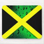 Bandera de Jamaica Mousepad Alfombrillas De Raton