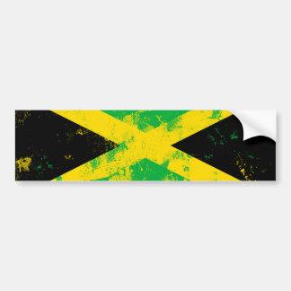Bandera de Jamaica Pegatina Para Auto