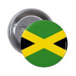 Bandera de Jamaica Pin Redondo 5 Cm