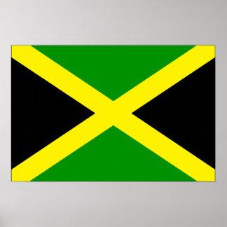 Bandera de Jamaica Póster