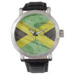 Bandera de Jamaica Relojes De Pulsera