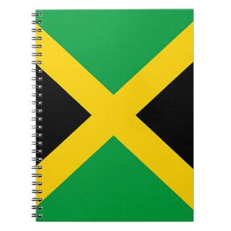 Bandera de Jamaica Spiral Notebook