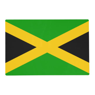 Bandera de Jamaica Tapete Individual