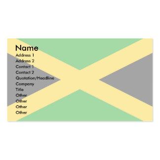 Bandera de Jamaica Tarjeta De Visita