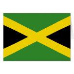 Bandera de Jamaica Tarjeta Pequeña