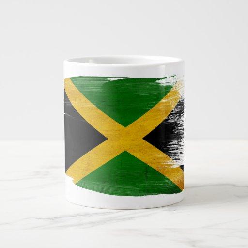 Bandera de Jamaica Taza Grande